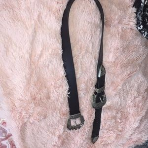 Forever 21: Double Buckle Belt